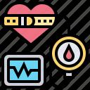 beat, blood, cardiogram, heart, pressure