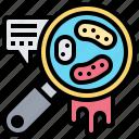 bacteria, disease, germ, microorganism, pathogen icon