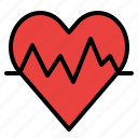 beat, heart, medical, rate icon