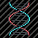 biology, chromosome, dna, medicine icon