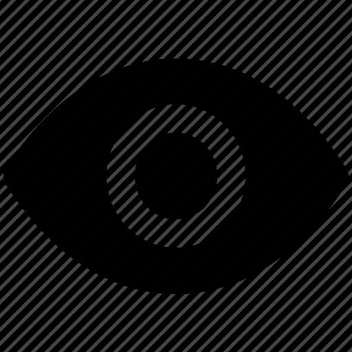 eye, human eye, ophthalmologists, optometrists, view, visible, vision icon
