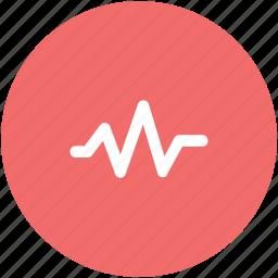 healthcare, heart, heartbeat, lifeline, pulsation, pulse, pulse rate icon
