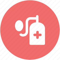 blood pressure operator, bp guage, bp monitor, bp operator, medical kit, sphygmomanometer icon