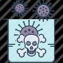 caution, danger, dangerous, perilous, warning icon