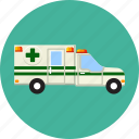 accident, alert, ambulance, automobile, emergency, help, paramedic icon