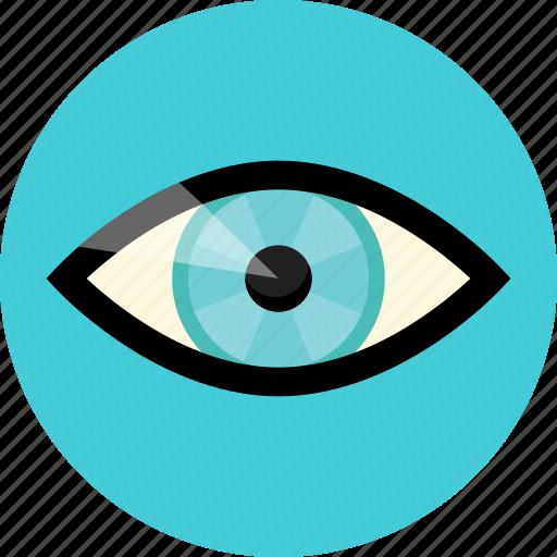 anatomy, eyes, iris, look, medicine, optic, searching icon