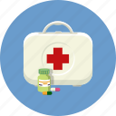 aid, briefcase, case, first aid, healthcare, help, medicine icon