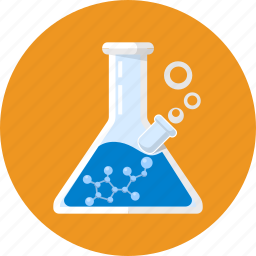 acid, analysis, biotechnology, experiment, flask, lab, research icon