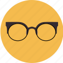 corrective, eyeglasses, glasses, lens, medical, optic icon