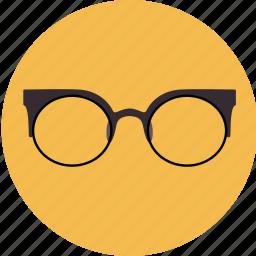 corrective, eyeglasses, glasses, lens, medical, optic icon
