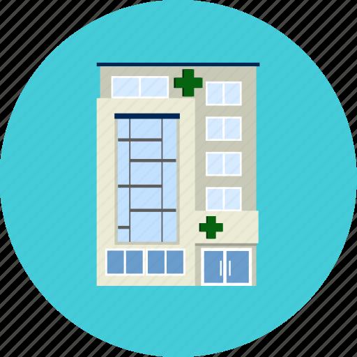 building, health, healthy, help, hospital, laboratory, medical icon