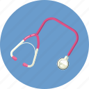 clinic, clinical, doctor, health, help, pulse, stethoscope icon