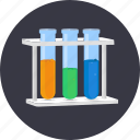 analysis, biology, chemistry, laboratory, pharmacy, research, tube icon
