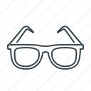 glasses, medical, oculist, ophthalmology icon