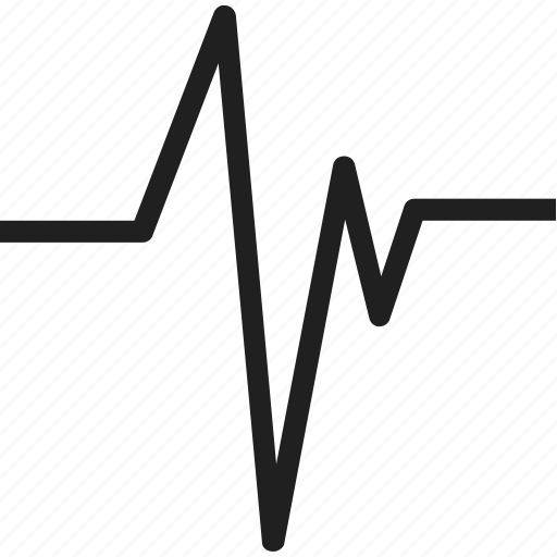 beat, doctor, heart, hospital, life, signal icon