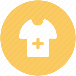 hospital apparel, hospital clothing, shirt, surgeon shirt, t-shirt icon