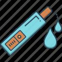 centrifuge, dark, dark urine, test, tube, urine