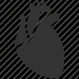 entrails, heart, heart disease, innards, medical, organ, visceral icon