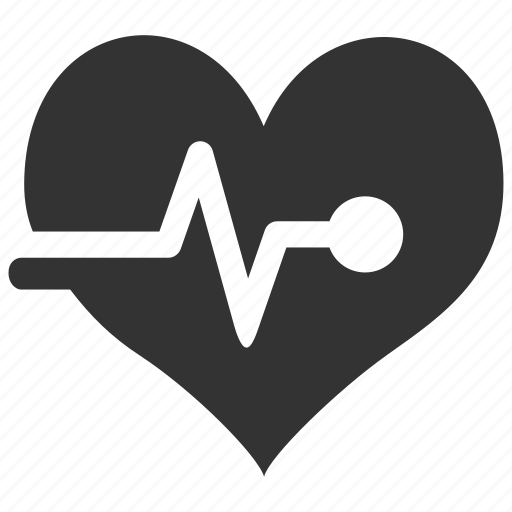 ecg, ekg, health, health check, heart check, heart rate, pulse icon