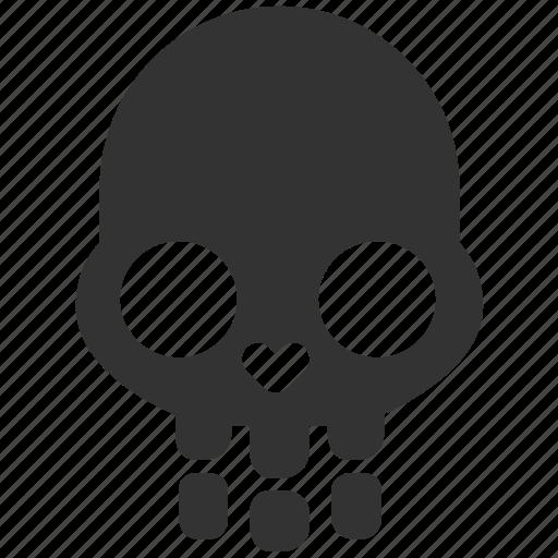 dead, death, evidence, halloween, identify, murder, skull icon