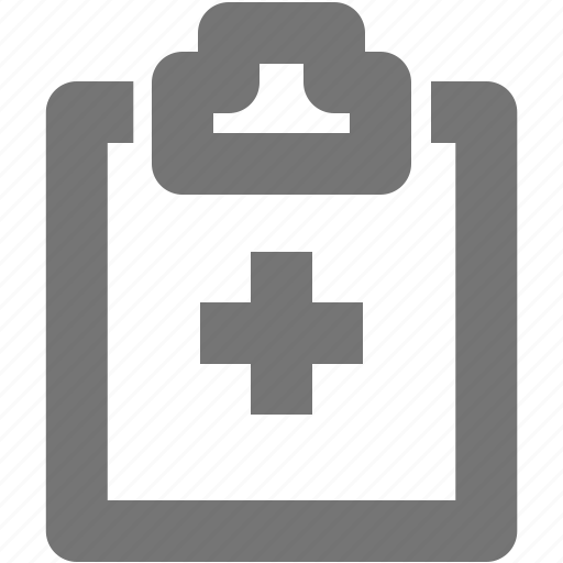 chart, healthcare, hospital chart, information, patient icon