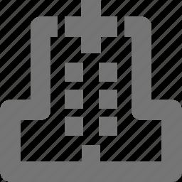 building, doctor, emergency, healthcare, hospital icon