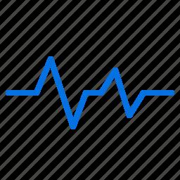 beat, ecg, heart, lifeline, medical, pulse, wave icon