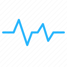beat, cardio, ecg, heart, lifeline, pulse, wave icon