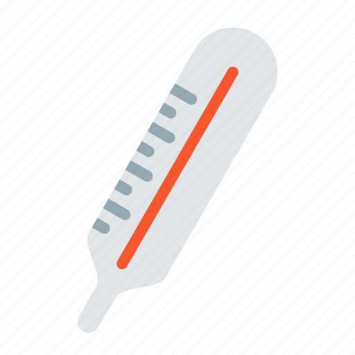 device, instrument, lead, measure, temperature, thermometer icon