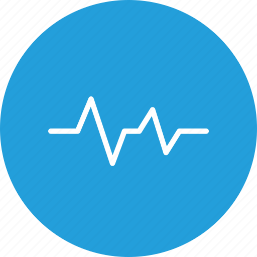 beat, cardio, heart, lifeline, medical, pulse, wave icon