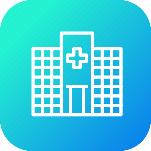 building, care, clinic, emergency, health, hospital, medical icon