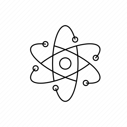 atom, chemistry, education, experiment, research, science icon