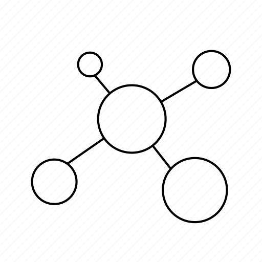 atom, call, cell, cellular, iphone, molecule, telephone icon