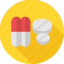 drugs, medication, medicine, medicines, pharmacy, pills, prescription icon