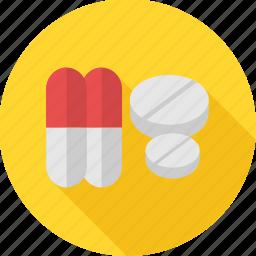 drugs, medication, medicine, medicines, pharmacy, pills, prescription icon