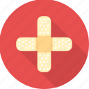 emergency, firstaid, health, healthcare, hospital, medical, red cross icon