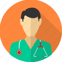 physician, doctor, medical, provider, stethoscope, healthcare, male