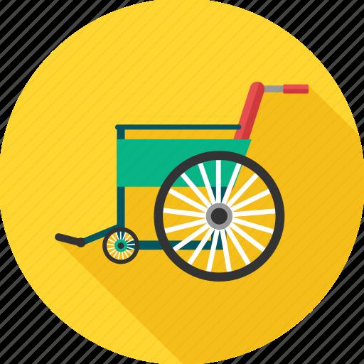 chair, disability, disable, disabled, handicap, wheel chair, wheelchair icon