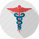 asclepius, caduceus, healthcare, hermes, hospital, logo, medical icon