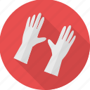 care, gloves, hand, health, love, medical, touch icon