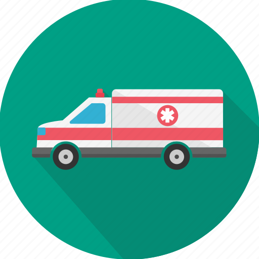 ambulance, car, care, emergency, medical, recovery, treatment icon