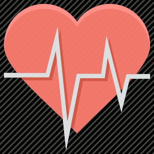heart rate, heartbeat, lifeline, pulsation, pulse rate icon