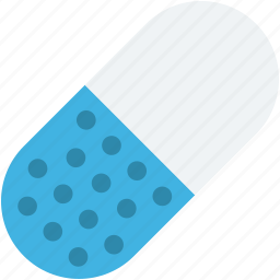 capsule, drug, medical pill, medication, medicine icon