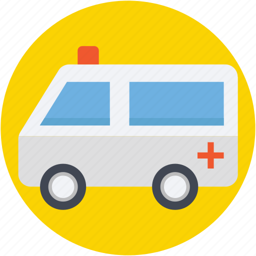 ambulance, emergency, emt, medical transport, medical van icon
