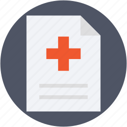 medical, medical report, medication, patient report, prescription icon