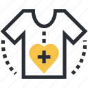 clothes, patient, patient shirt, shirt, t-shirt icon
