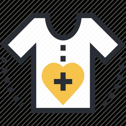 clothes, patient, patient shirt, shirt, t-shirt icon