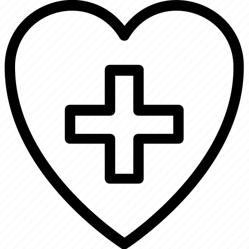 aid, healthcare, heart, heart care, medical icon