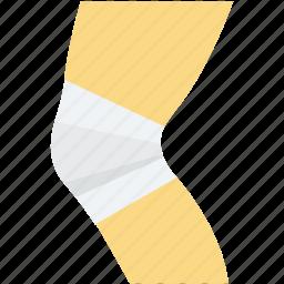 arm fracture, bandage, bone bandage, bone fracture, knee bandage icon