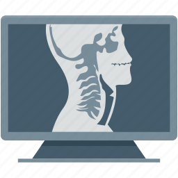 orl, otolaryngology, throat, throat report, throat x ray icon